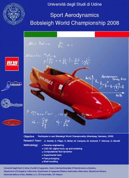 Il poster del bob di CS Canoe